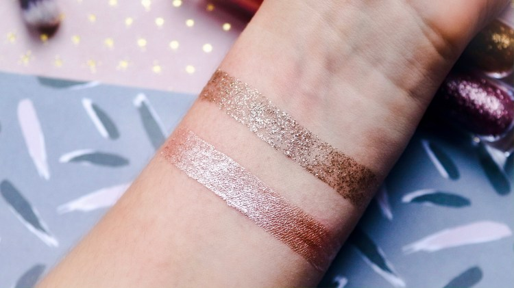 Makeup Revolution Eye Glisten: Foil & Liquid Eyeshadows Review, Swatches & Photos
