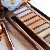 URBAN DECAY- NAKED HONEY PALETTE - REVIEW & SWATCHES