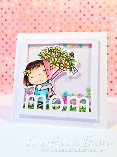 For Mom Shaker Card_1