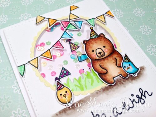Party Animals Shaker Card_1