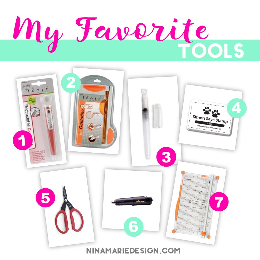 my favorite tools_may