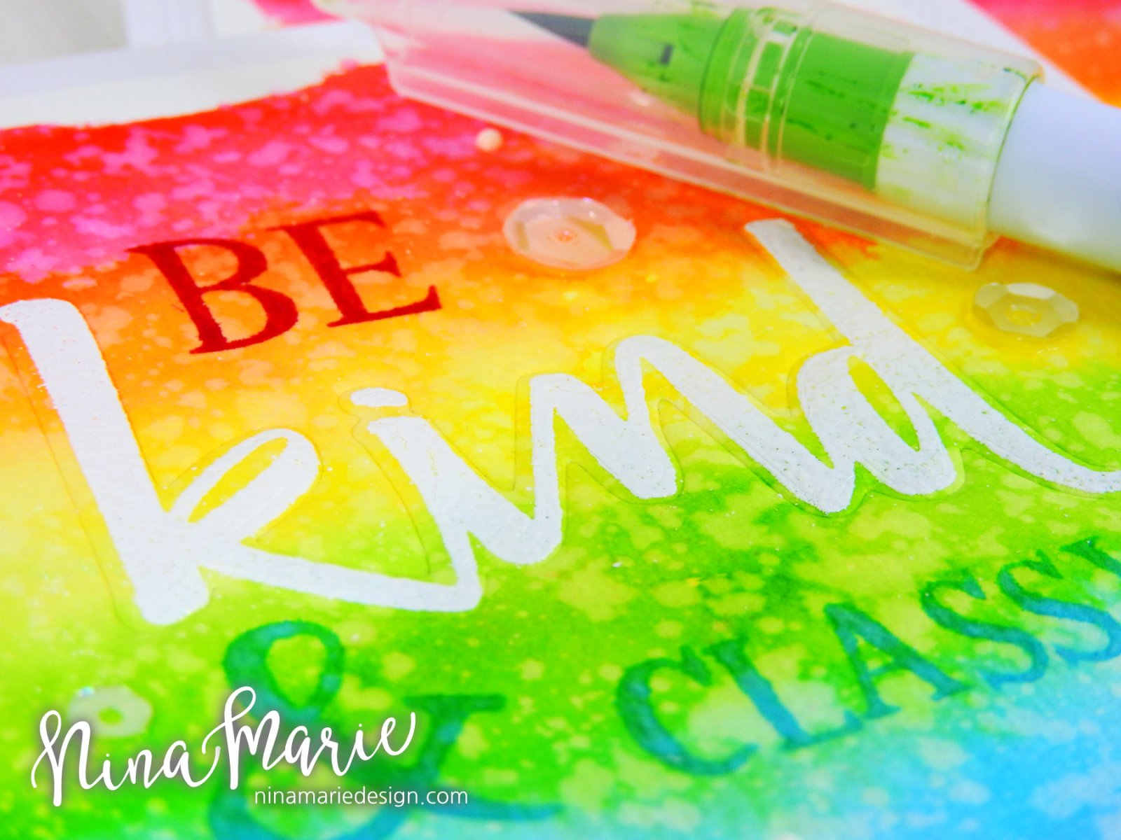 Faux Letterpress + Rainbow Backgrounds + Concord & 9th Birthday_2