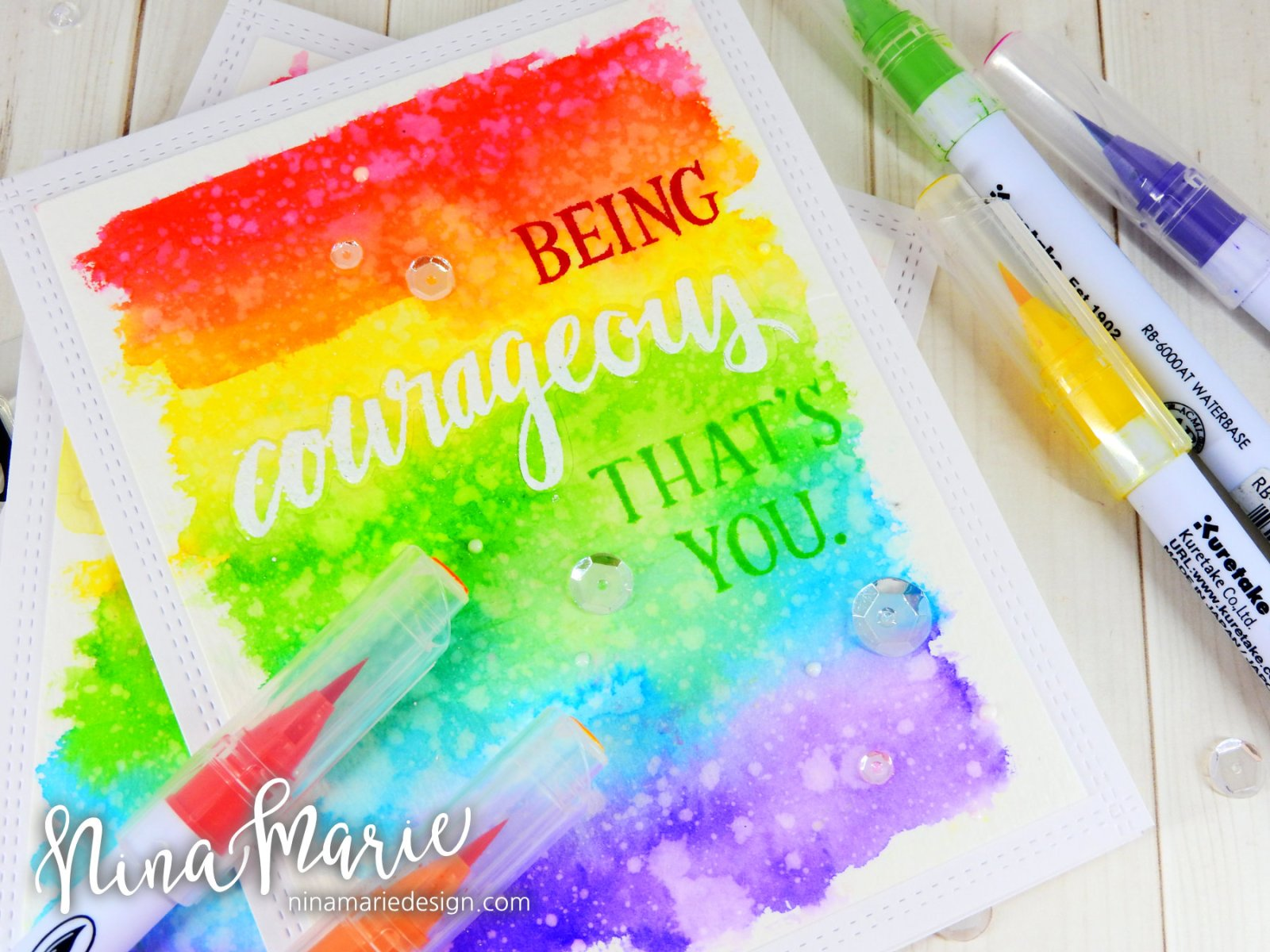Faux Letterpress + Rainbow Backgrounds + Concord & 9th Birthday_4