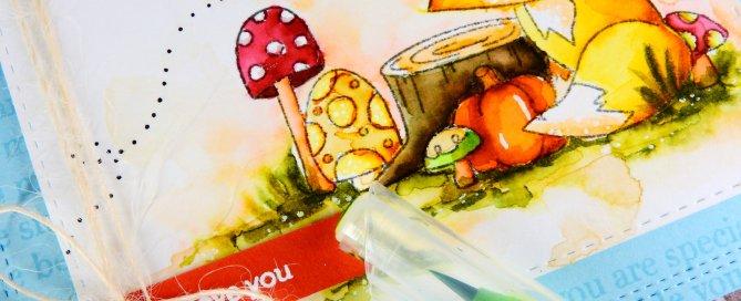 Storybook Watercolor Scene Nina-Marie Design
