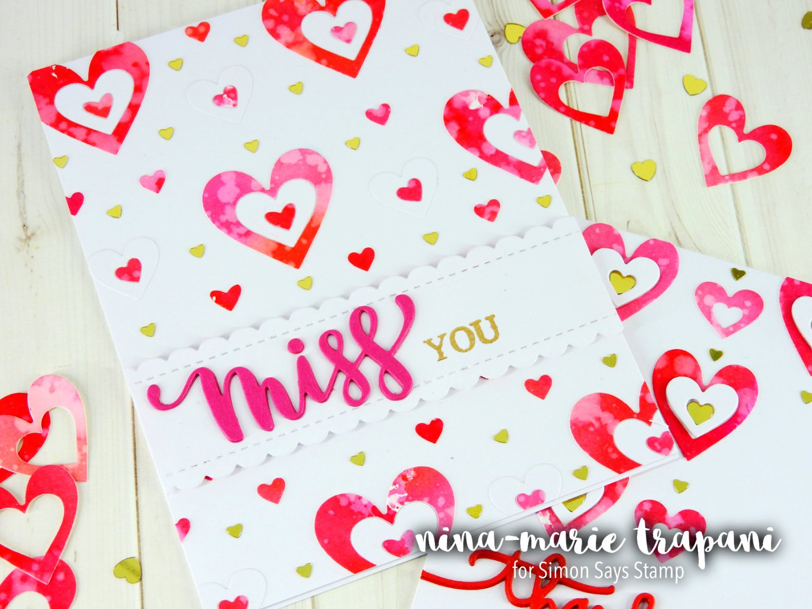 In Lay Die Cutting + Simon Says Stamp Blog Hop Nina-Marie Design