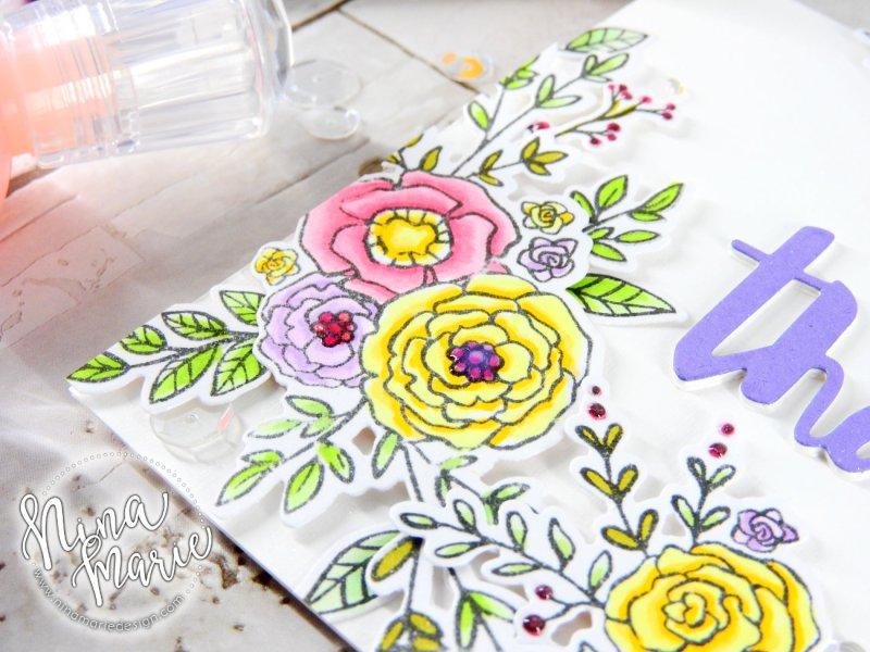 Little Details to Make a Card Pop Nina-Marie Design