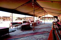 "campground ""lobby"" in Wadi Rum"