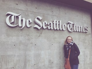 After touring The Seattle Times on Feb. 8, 2017, I learned the organization is far from dead and they're constantly looking for new ways to engage readers and connect with their audiences.