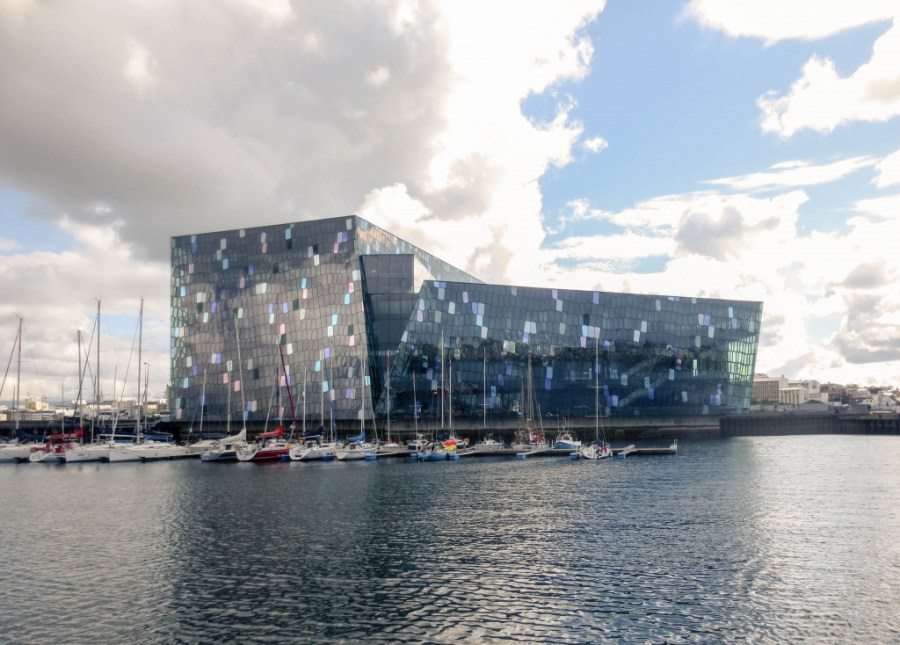 Harpa from the Water