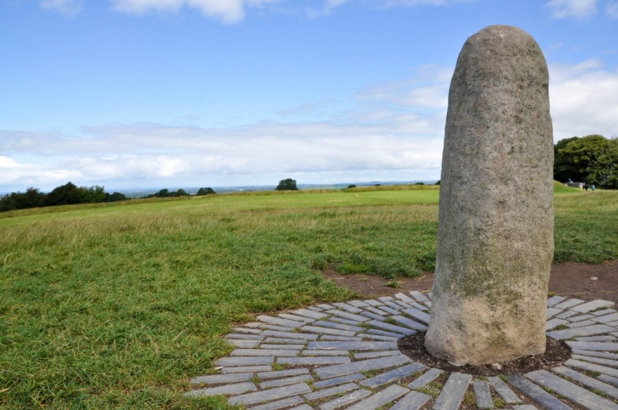 Stone of Destiny on Hill of Tara