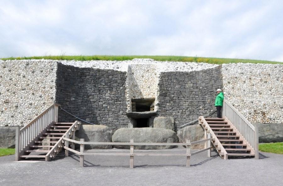 Entrance to Newgrange passage tomb