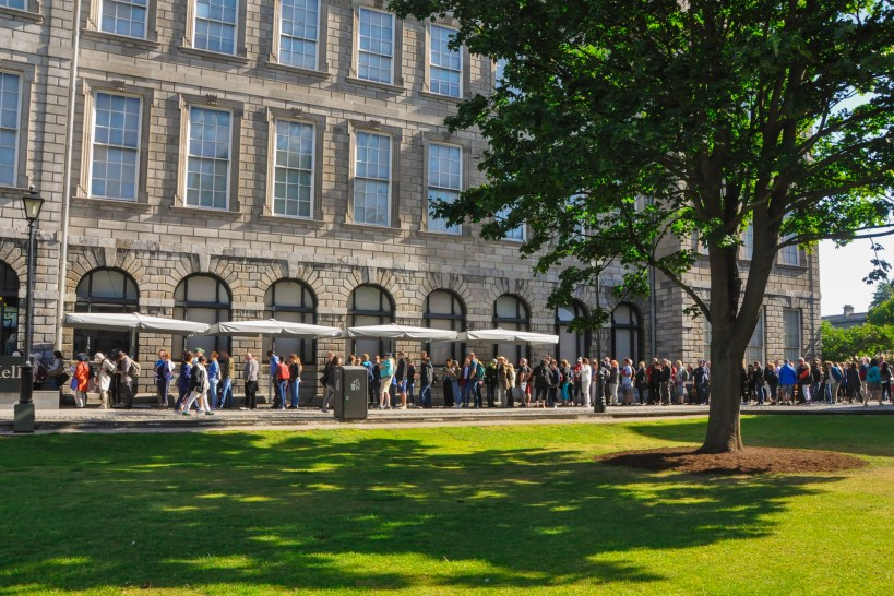 line at book of kells