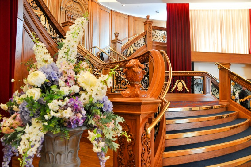The Titanic Museum Staircase