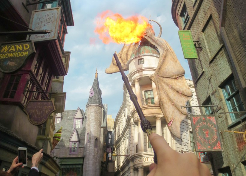Diagon Alley Orlando studio