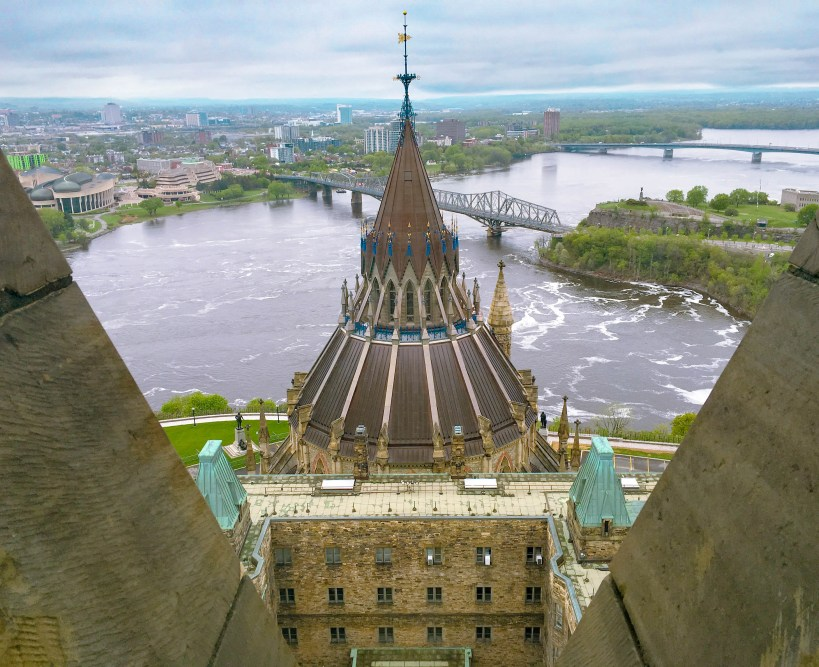 View from the Peace Tower