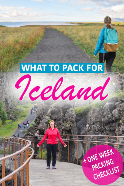 Iceland Packing Guide