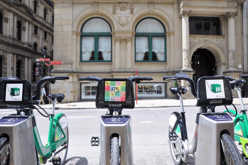 Bixi Bikes Montreal