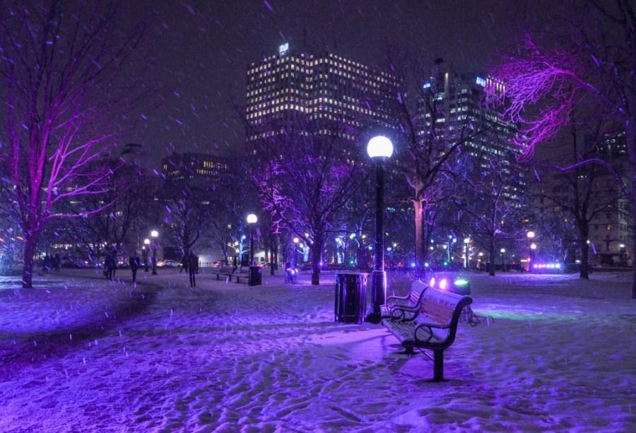 Christmas Lights Across Canada