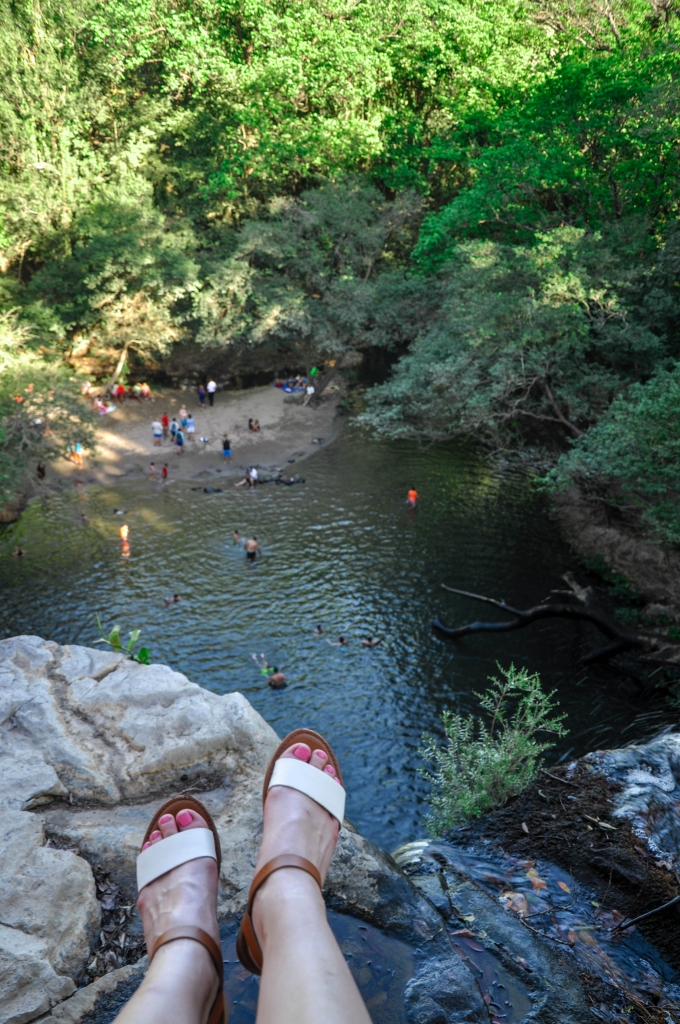 llanos de cortez waterfall top