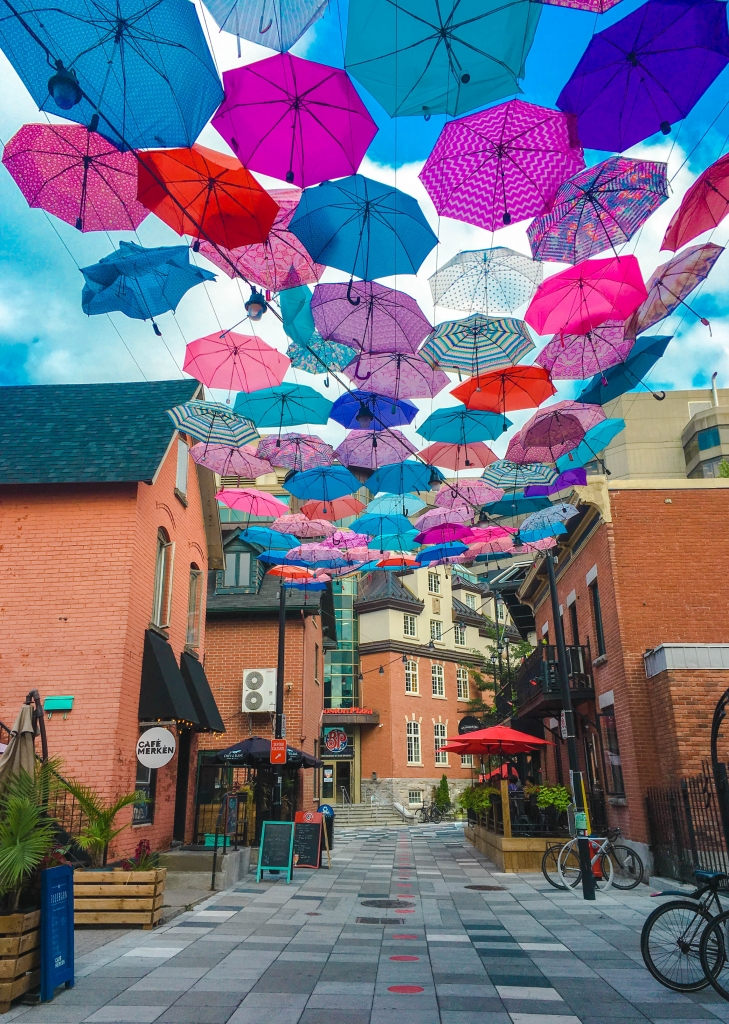 Gatineau Umbrella Street