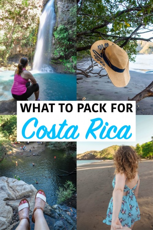 What to Pack for Costa Rica pin