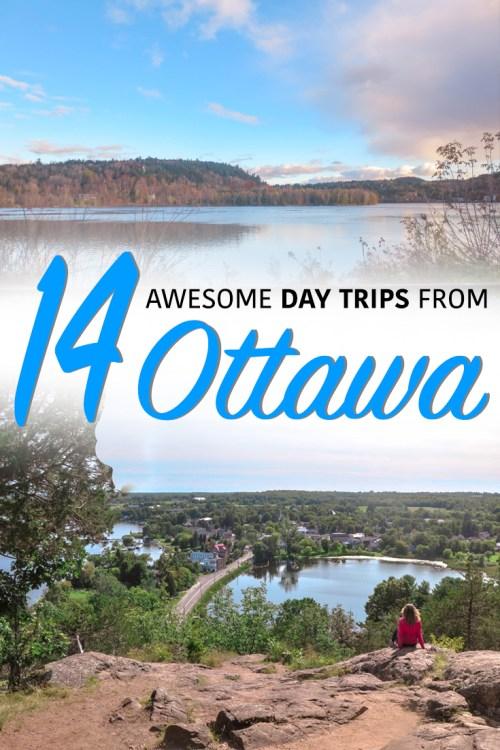 day trips from ottawa pin