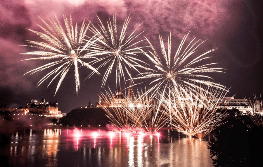 ottawa summer fireworks
