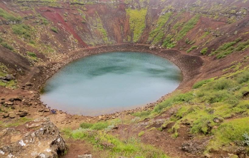 Kerið Crater Lake