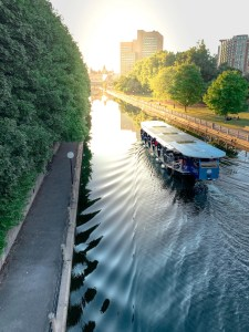 Rideau Canal Boat cruise