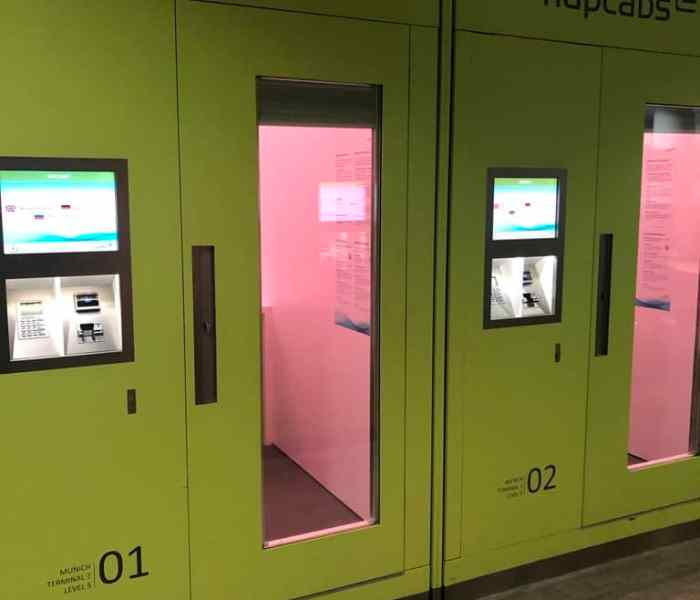 Munich Airport's Napcabs: A Review