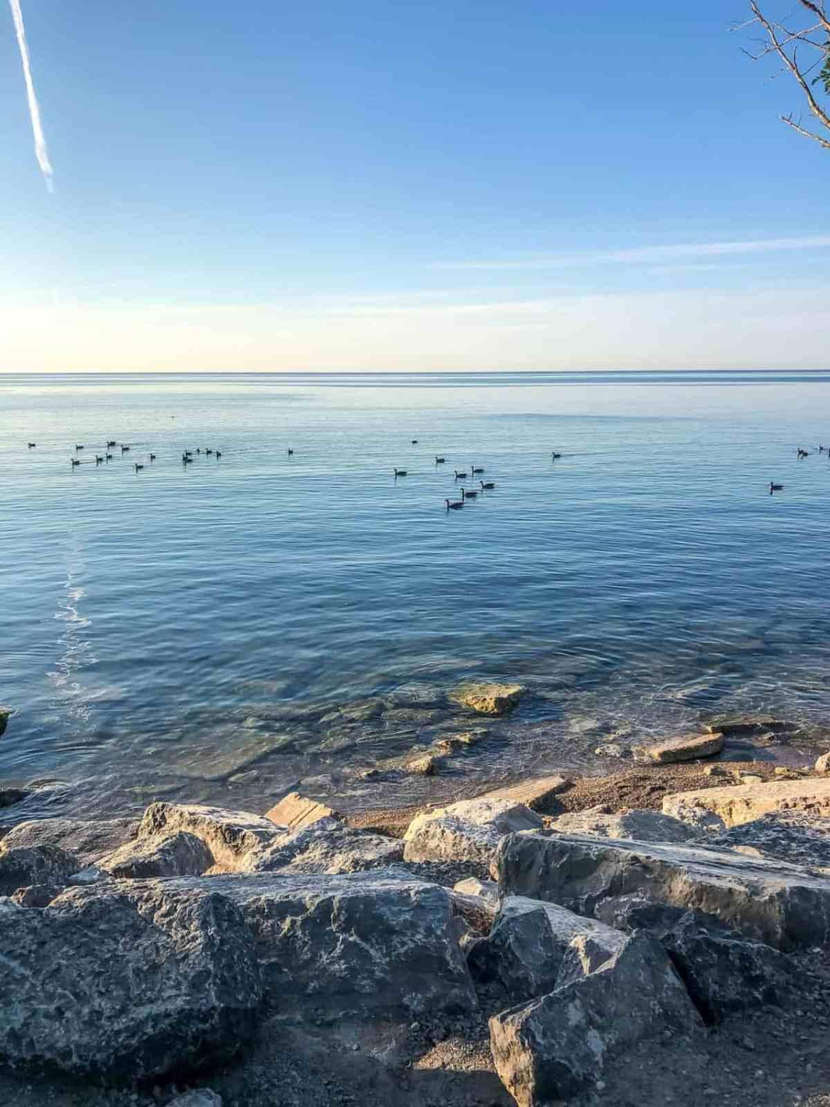 Lake Ontario at sunrise