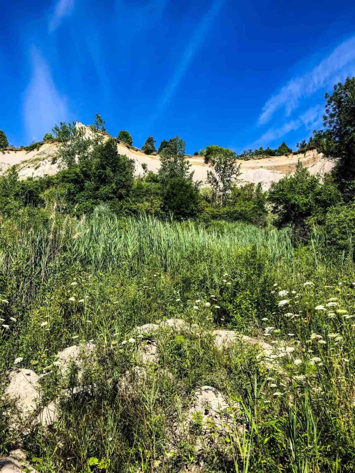 Scarborough Bluffs hiking