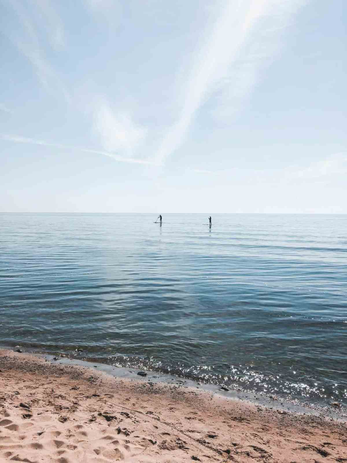 Scarborough Bluffer's Park Beach Paddle board