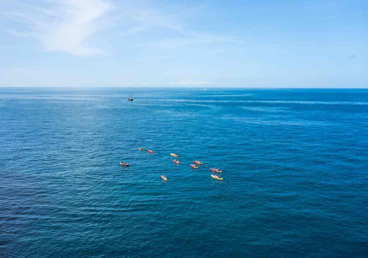 kayak from dubrovnik to Lokrum Island