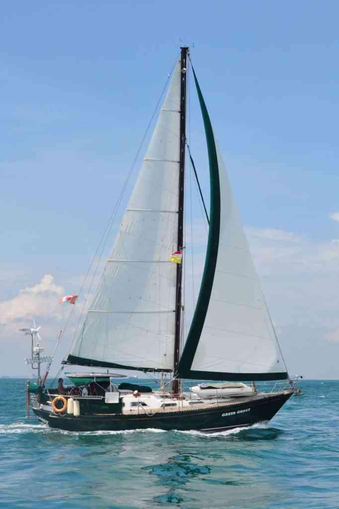 green ghost, blue ocean adventure travel book review