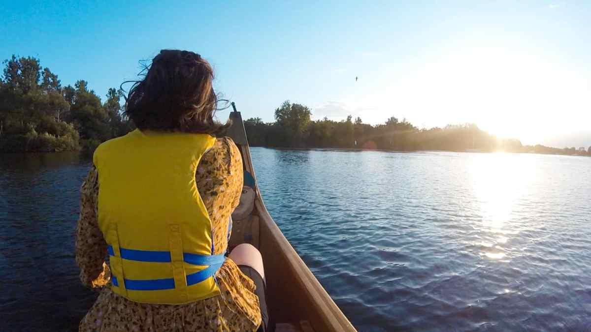 sunset canoe tour toronto islands - ruckify