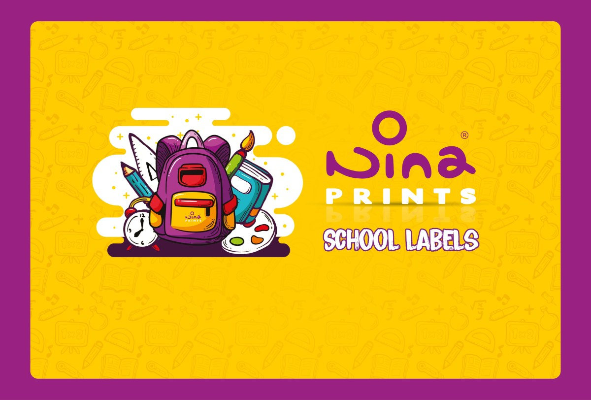 Nina Prints School labels Catalogue