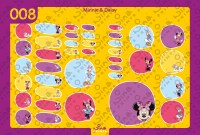 Minnie & Daisy Back to School Stickers/ Labels From Nina Prints