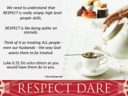 do unto others respect
