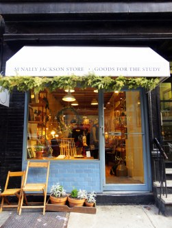Charming stores in Nolita - yes, I may have bought a thing or two.