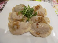 Pierogies in Gdansk