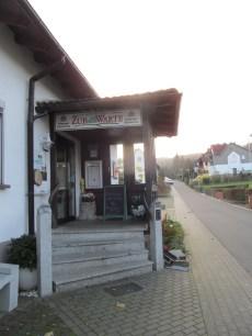 Zur Warte entrance