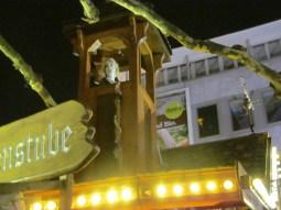 Glühwein stand with Rapunzel