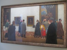 1947: In the Grand Gallerie by Leroux