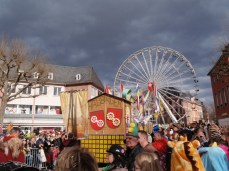 Skies darken on Rosenmontag