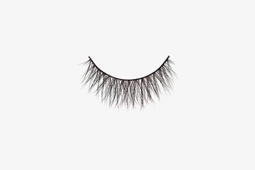 Ella Mink Lashes, single false lash on grey background