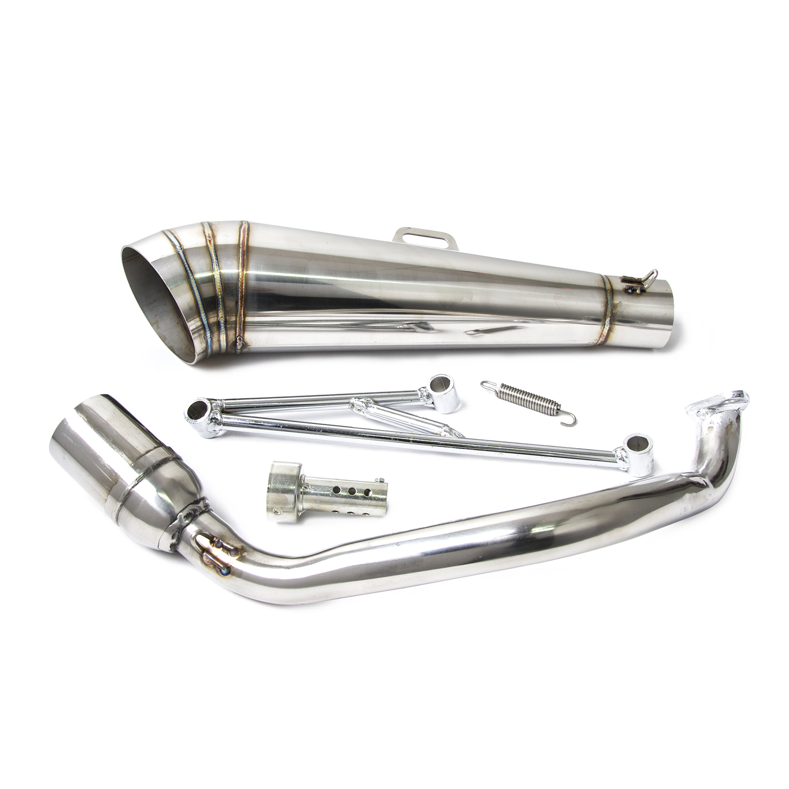 Exhaust Muffler Pipe For Honda Ruckus Zoomer With Gy6