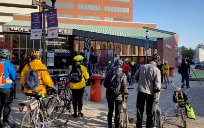 2019 Relaunch of CranksgivingIndy Brings Big Support to Local Food Pantry