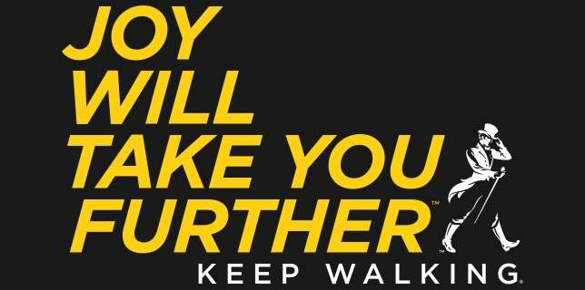 "JOHNNIE WALKER ""Joy Will Take You Further. Keep Walking"" Thay đổi lớn từ Keep Walking"
