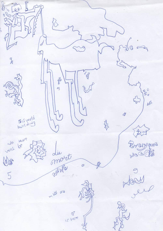 "Map, with ""Unicorn"""